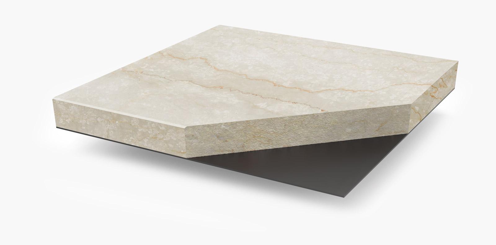 finitura in pietra con installazione magnetica