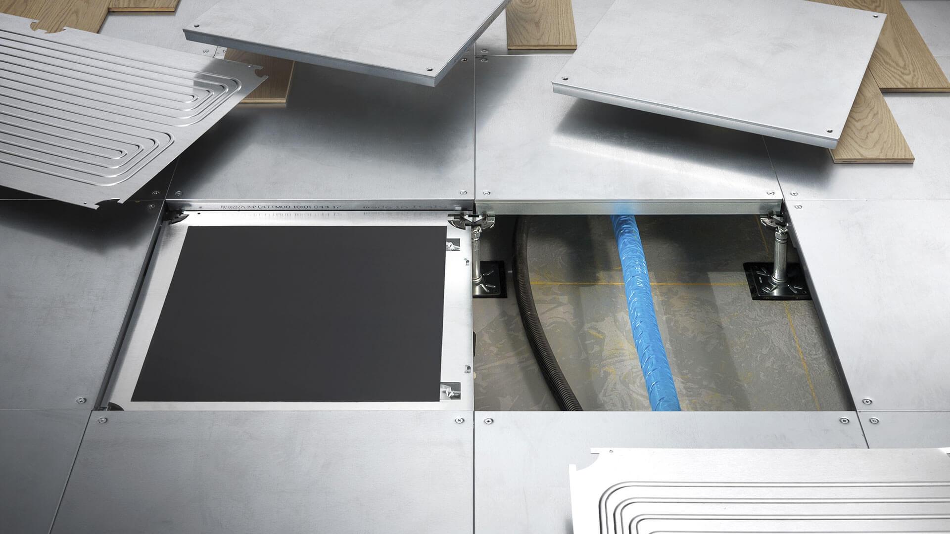 massetto magnetico per pavimento flottante